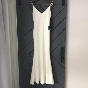 LuLu's Infinite Glory White Maxi Dress